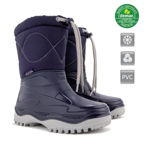 kids boys winter snow boots welly moon mucker boots uk