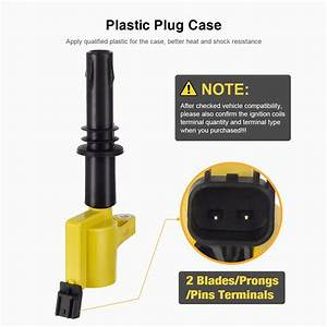 8 New Qyl Yellow Ignition Coil For 06 07 08 Mercury