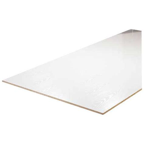 Rona Ceiling Tiles 12x12 by Melamine Panel 3 4 Quot X 4 X 8 White Rona