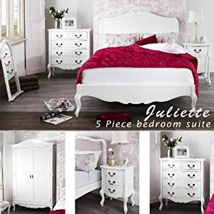 White Bedroom Suites Uk by Juliette Shabby Chic White Bed 5pc Bedroom Suite