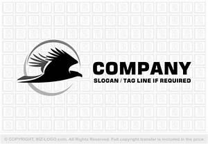 Flying Eagle Silhouette Logo