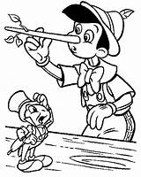 Pinocchio Coloring Pages Cricket Jiminy Nose Printable Disney Face Template Colouring Christmas Colour Craft Adults Cartoon Getcolorings Getcoloringpages Drawings Because sketch template