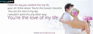 You are the love of my life Facebook cover Free Download