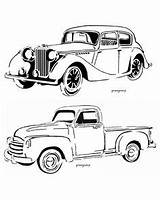 Truck Ford Drawing Dodge Coloring Chevy Trucks Classic Cummins Drawings C10 Foose Chip Silhouette Chevrolet Getdrawings Camaro Illustrations Getcolorings sketch template