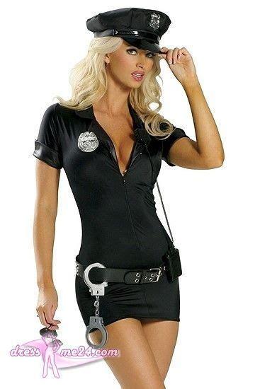 mit hosenträgern damen besuche uns gern auch auf dressme24 cop traffic polizistin kost 252 m