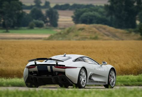 Jaguar 20192020 Jaguar Cx75 Rear View  20192020 Jaguar