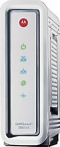 Motorola Surfboard Docsis 3 0 Highspeed Cable Modem Silver