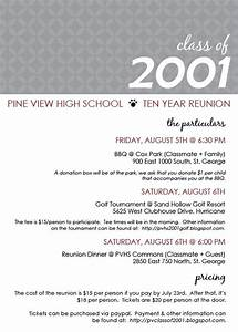 class reunion ideas class reunion invitation templates With class reunion program template