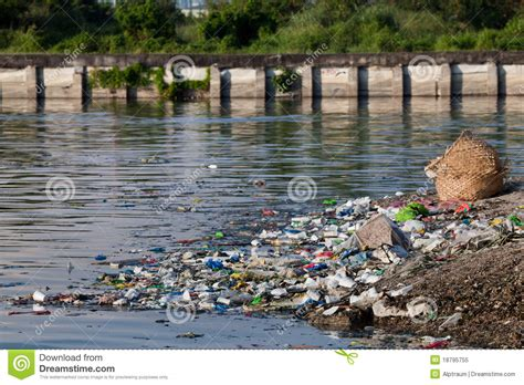 water pollution royalty  stock photo image