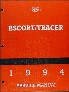 1994 Ford Escort And Mercury Tracer Wiring Diagram Original
