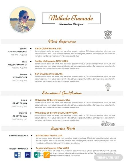 Pages Resume Templates Free by Free 2 Apple Pages Resume Template Word Psd Indesign