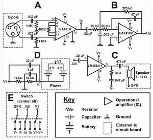 Circuit Plan For Electric Fish Finder  See Text For Description Of