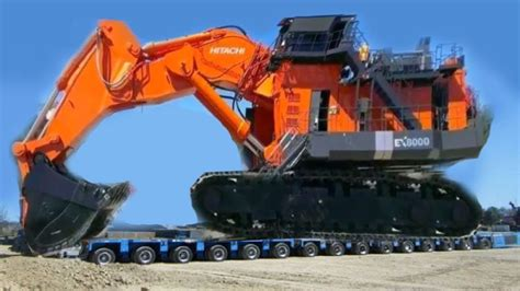 world biggest excavator construction heavy equipment