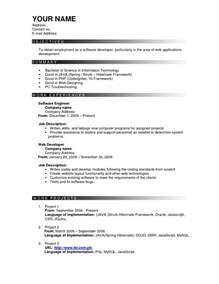 an effective resume format effective resume templates sle resume cover letter format