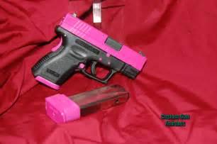 Custom Springfield XD 9Mm Pink Guns