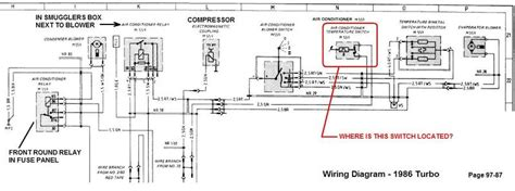1985 Porsche 911 Wiring Diagram by Where Is This Ac Temp Switch Located Pelican Parts Forums