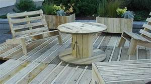 Terrasse Avec Palette : terrasse palette recup ~ Melissatoandfro.com Idées de Décoration