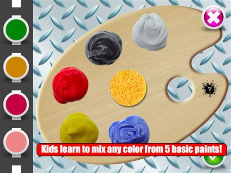preschool learning the color wheel app shopper color