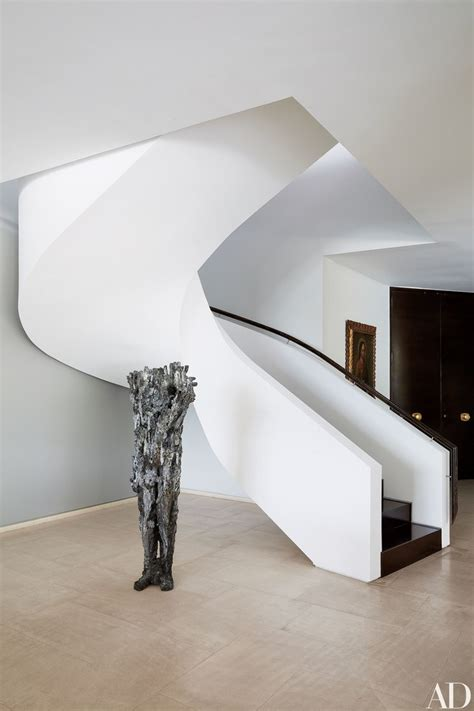 homes interiors ideas 15 striking modern staircases photos architectural digest