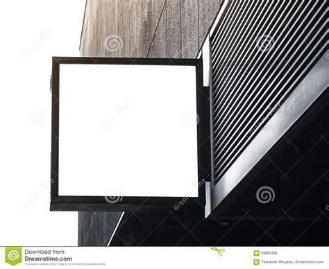 Blank Billboard Template signboard shop mock  square shape display stock photo 1300 x 1065 · jpeg