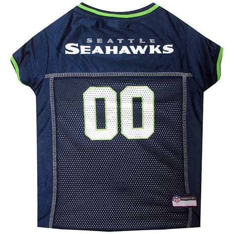 seattle seahawks dog jersey xsmall healthypets