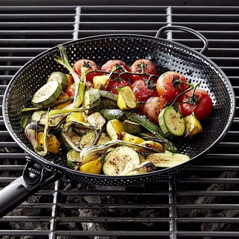 high heat nonstick steel barbecue frying pan williams