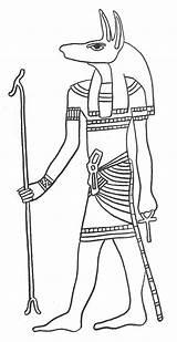 Egyptian Coloring Ancient Anubis Egypt Printable God Colouring Arte Sheets Cat Gods Pet Dead Egipto Egizia Goddess Dibujo Pyramid Embalming sketch template