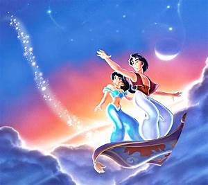 Walt disney mobile wallpapers aladdin princess jasmine for Aladdin and jasmine on carpet wallpaper