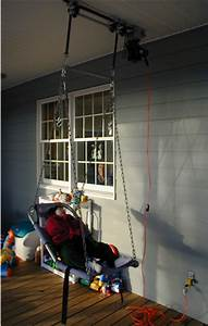 Motorized Swing From Suspended Rings Assistive