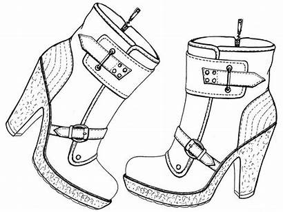 Coloriage Chaussures Coloring Nike Converse Chaussure Schuhe