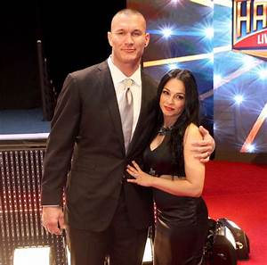 Randy Orton and his wife   Wrestling   Pinterest   Randy orton