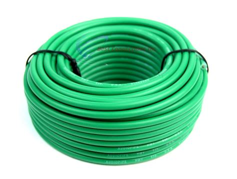 what color is the ground wire 12 50 ft rolls primary auto remote power ground wire
