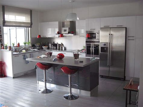 d馗o cuisine moderne cuisine ouverte photo 1 3 3496857