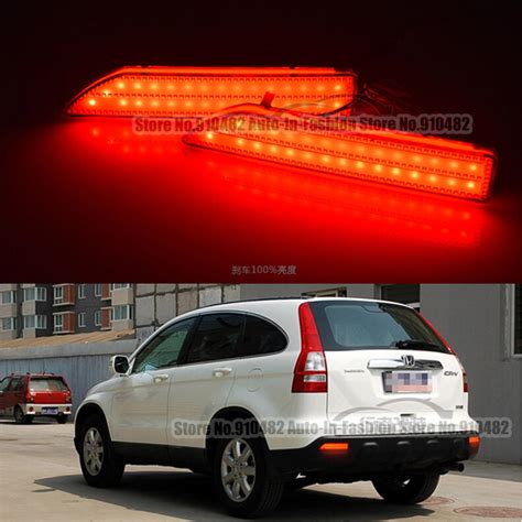 car led len rear bumper reflector led stop brake light