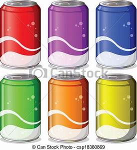 Beverage cans clipart - Clipground