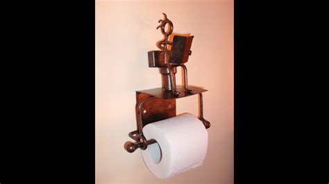 Making A Funny Toilet Paper Roll Holder