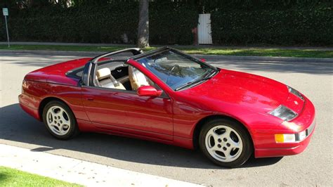 nissan convertible nissan 300zx convertible collector car 29k miles one off