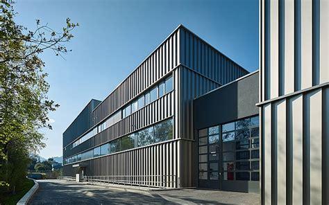 Betriebsgebäude Veredlung Getzner Bludenz Architektur