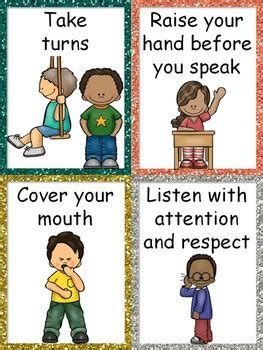 good manners posters  bilingual classroom resources tpt