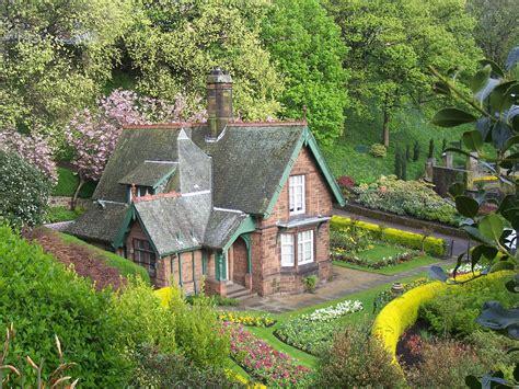 Gardeners Cottage, Princes Street Gardens, Edinburgh, Apri