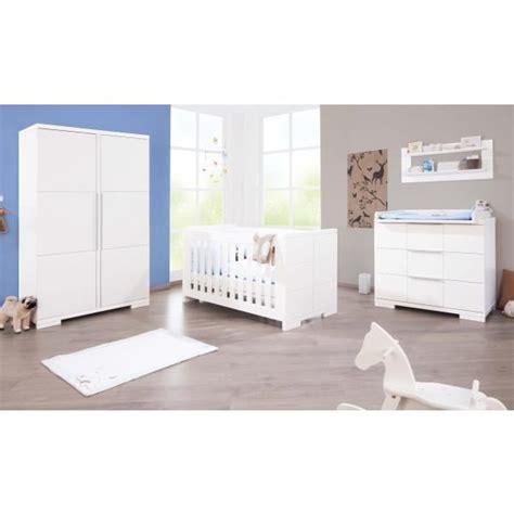 chambre bébé polar laqué blanc mat achat vente