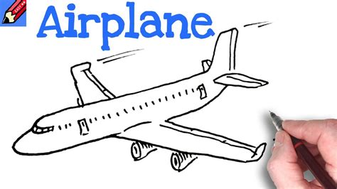 draw  plane real easy youtube