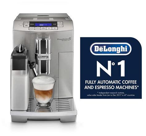 Lavazza coffee capsules compatible gourmet italian coffee with one touch ; DeLonghi America ECAM28465M Prima Donna Fully Automatic Espresso Machine with Lattecrema System ...