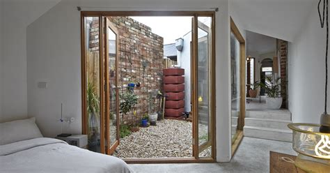 Homes With Small Courtyards by A Small House Called Dolls House By Edwards Humble