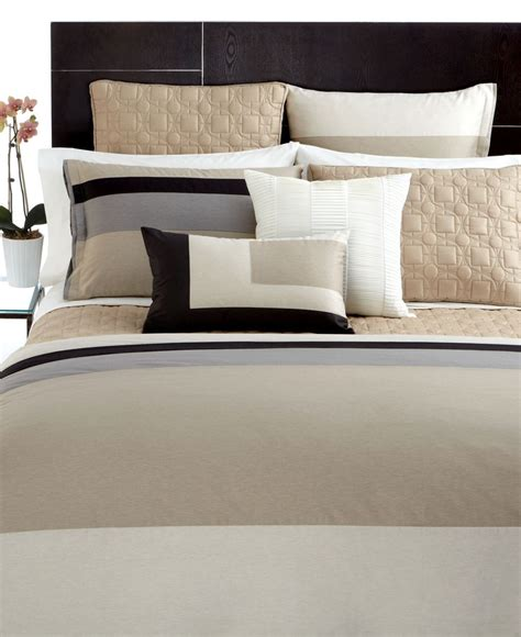 Macys Hotel Collection Bedding by Hotel Collection Panel Stripe Macy S Bedding