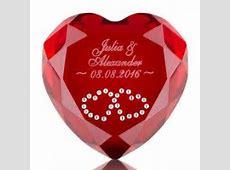 HerzKristall mit Gravur ♥ ein liebevolles Geschenk