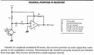 Infrared Based Schematics  Circuits And Diagram