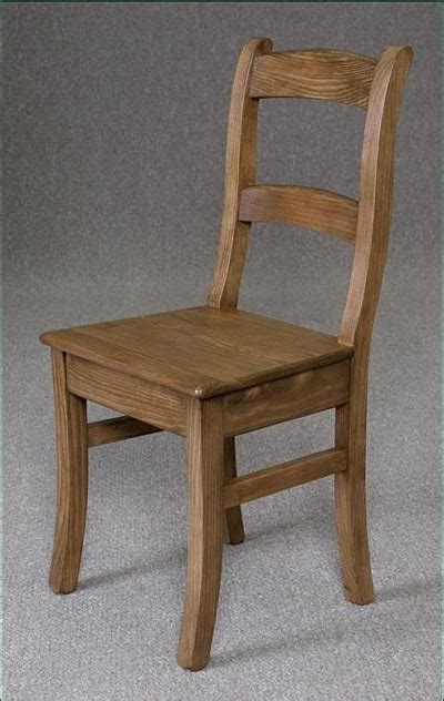 Pine Chapel Chair Country Farmhouse Dining Chairs Kitchen