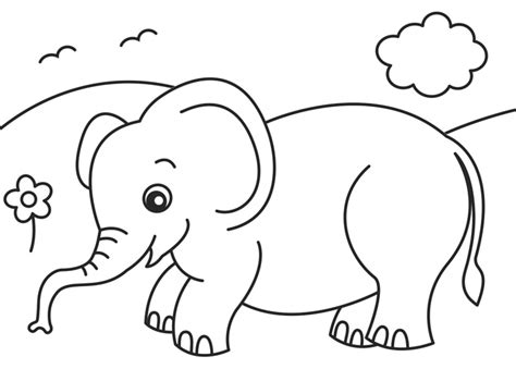41 Coloring Pages Jungle, Realistic Jungle Animal Coloring