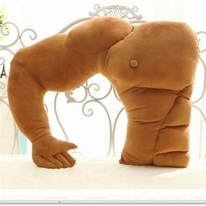 1pc Fashion Muscular Boyfriend Arm Pillow Massager Shape Large Pillow Cushions Pillow Girlfriend
